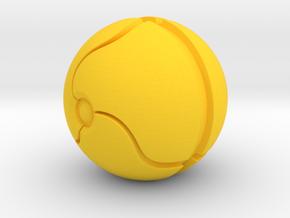 Morph Ball Shift Knob in Yellow Strong & Flexible Polished