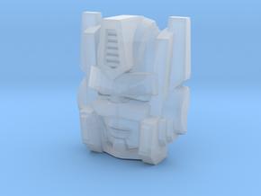 Optimal Optimus Face (Titans Return) in Smooth Fine Detail Plastic
