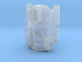 Optimal Megatron Face (Titans Return) in Smooth Fine Detail Plastic