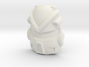 Machine Wars Jet Type 1 (Titans Return) in White Natural Versatile Plastic
