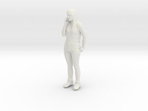 Printle C Femme 052 - 1/20 - wob in White Natural Versatile Plastic