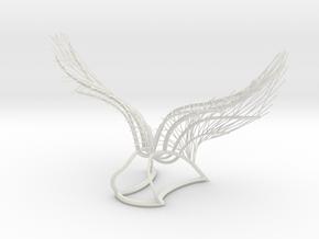 Original Angel Wings in White Natural Versatile Plastic