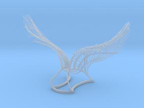 Original Angel Wings in Smooth Fine Detail Plastic