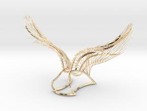 Original Angel Wings in 14k Gold Plated Brass