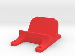 QAV210 GoPro Mount Rev 1 in Red Processed Versatile Plastic