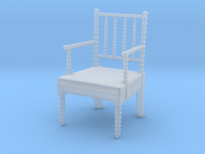 1:48 English Bobbin Chair (Custom Order) in Smoothest Fine Detail Plastic