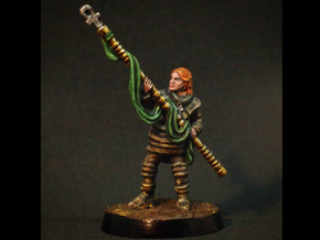 Sister Margott - 28mm Sci-Fi Wanderer in Black Hi-Def Acrylate