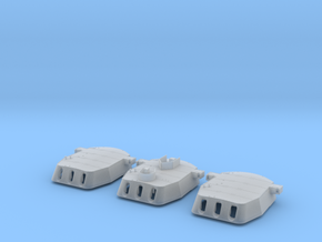 "1/200 16""/45 MKI HMS Rodney Turrets 1940 in Smooth Fine Detail Plastic"