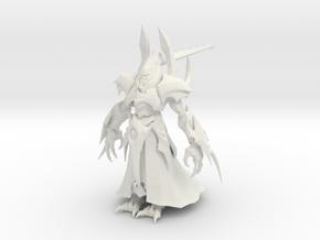 1/35 Alarak Standing Pose in White Natural Versatile Plastic