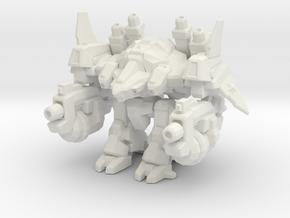 1/700 Terran Odin in White Natural Versatile Plastic
