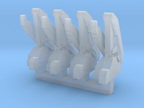 Hiab Hoist 1-400 4 Pack in Smooth Fine Detail Plastic