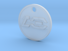 MB-Sabers pendant 05 in Smooth Fine Detail Plastic