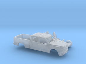 1/87 2014-17 Ford F-150 Long Bed Two Piece Kit in Frosted Ultra Detail
