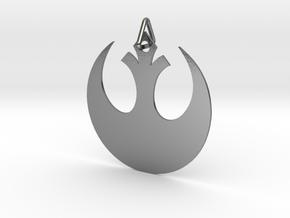 Alliance Star Bird in Interlocking Polished Silver