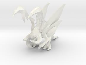 1/60 Wing Zergling in White Natural Versatile Plastic