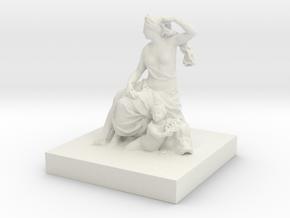 Printle Classic Statue in White Natural Versatile Plastic