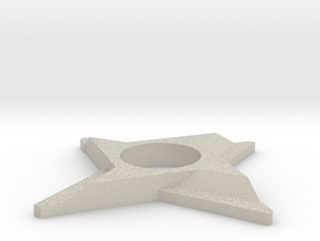 Shuriken Spinner in Natural Sandstone