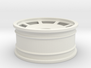 BSR 1-10 Front Rubber in White Natural Versatile Plastic