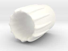 Intake Cone Ornamental-BT-20 in White Processed Versatile Plastic