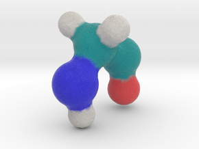 Amino Acid: Glycine in Full Color Sandstone