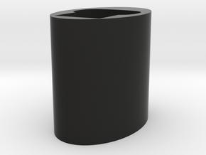 Pax 2/3 Dock in Black Natural Versatile Plastic