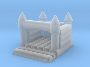 N Scale Bouncing Castle in Smooth Fine Detail Plastic