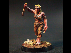 Sophie - 28mm Mutant in Black Hi-Def Acrylate
