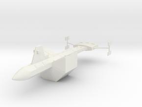 SS Botany Bay (Star Trek Classic), 1/537 in White Natural Versatile Plastic