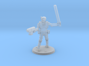 36MM Light Trooper 3 in Smooth Fine Detail Plastic