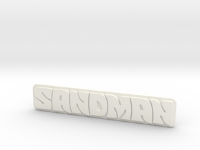 Holden - Panel Van - Sandman Emblem in White Processed Versatile Plastic