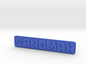 Holden - Panel Van - Sandman Emblem in Blue Processed Versatile Plastic