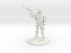 38mm SpecFor Sniper 1 in White Natural Versatile Plastic