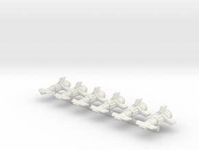 Dart MKI in White Natural Versatile Plastic