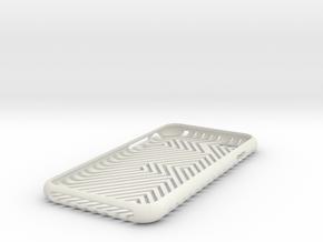 """Iphone 6 """" 11 """" in White Natural Versatile Plastic"""