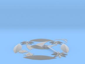 Hummingbird Pendant  in Smooth Fine Detail Plastic