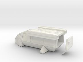 DX9 Stormtrooper Transport in White Natural Versatile Plastic