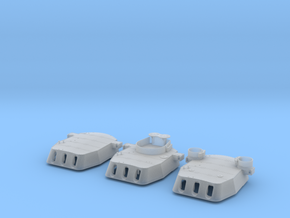 "1/200 16""/45 MKI HMS Rodney Turrets 1944 in Smooth Fine Detail Plastic"