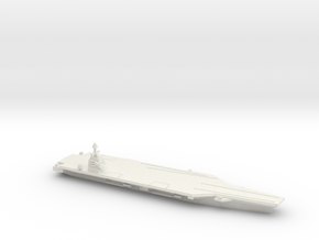 CVN-78 Gerald R. Ford, 1/2400 in White Natural Versatile Plastic