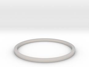 Ring Inside Diameter 18.4mm in Platinum