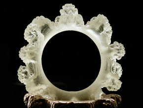 Transparent Mandelring in Transparent Acrylic