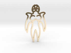 Angel in 14K Yellow Gold