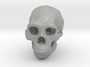 Lanyard : Real Skull (Homo erectus) in Aluminum