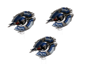 Droid trifighter  3-pack 1/270 in Smoothest Fine Detail Plastic