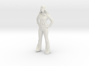 Printle C Femme 146 - 1/32 - wob in White Strong & Flexible