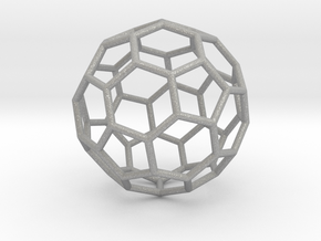 0624 Fullerene c60-ih - Model for the BFI (Bulk) in Raw Aluminum