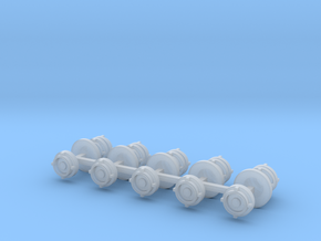 Fire hose Storz coupling 10x scale 1/50 in Smooth Fine Detail Plastic
