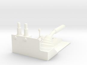 1.4 MANCHE COLLECTIF LAMA in White Processed Versatile Plastic