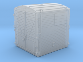 21813 BR Type A Container in Smooth Fine Detail Plastic