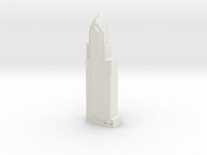 Two Liberty Place (1:2000) in White Natural Versatile Plastic