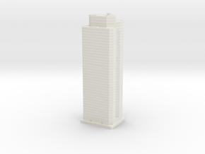 PNC Building (1:2000) in White Natural Versatile Plastic
